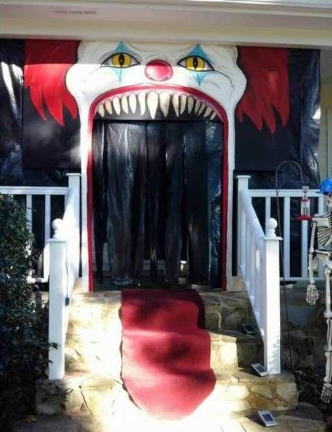 Ideas De Puertas Decoradas De Halloween Increibles Puertas Decoradas Para Halloween Decoracion Halloween Decoracion De Halloween