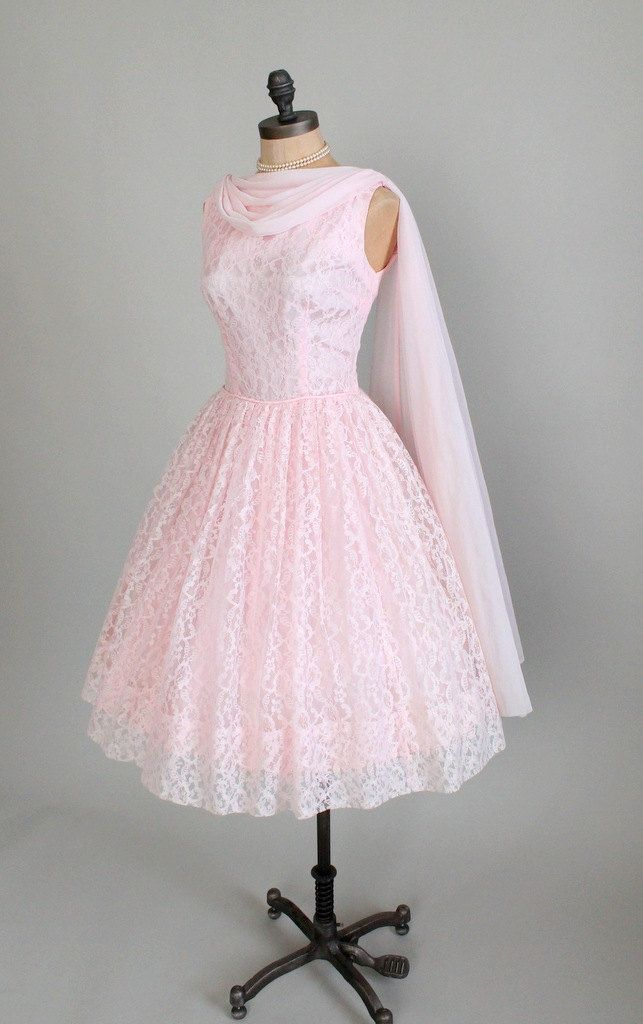 Evening dress 1950s style clothes