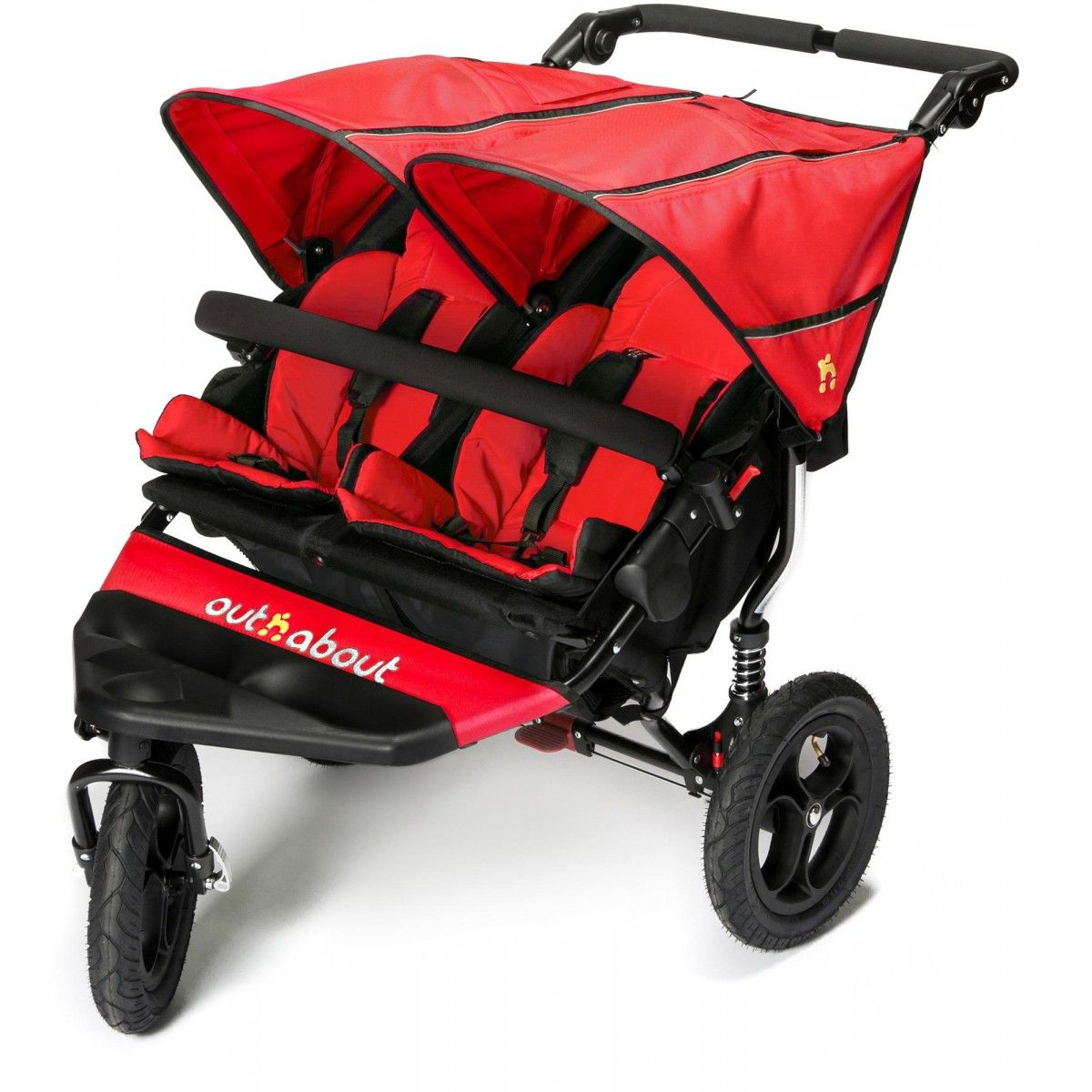 Best Pushchairs Independent Out N About Ready Twin Strollers Tandem Pushchair