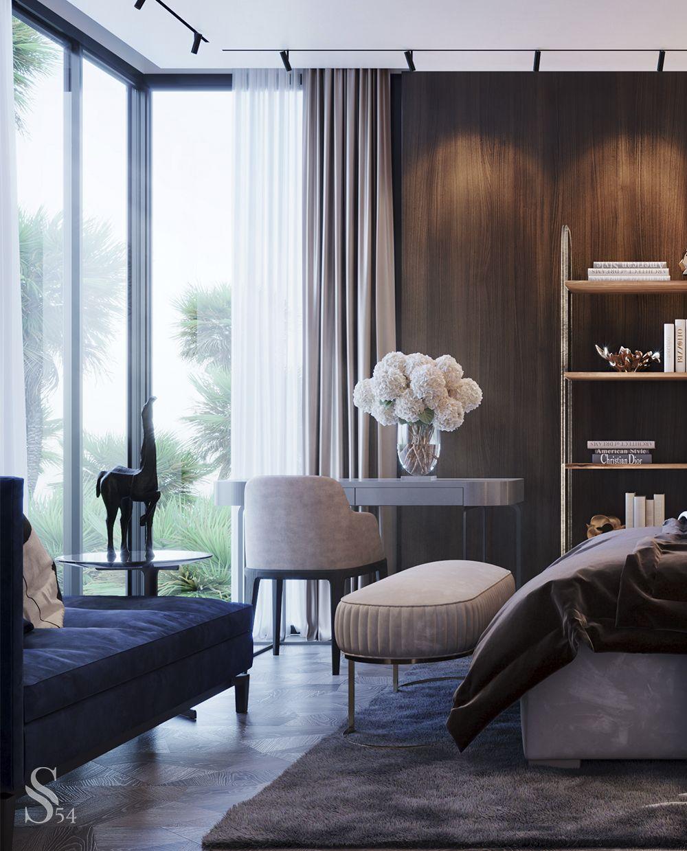 Guest Bedroom Contemporary Home Decor Luxury Home Decor Interior Design