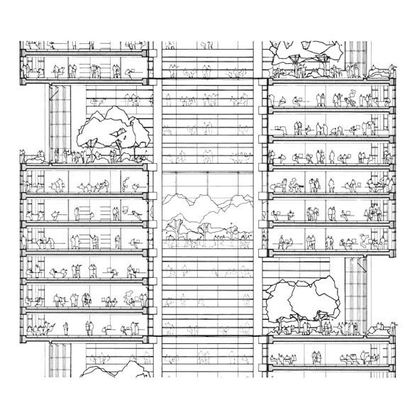 Pin by 고고한건축 gogoARCHITECTURE on Highrise Pinterest - new aia final completion