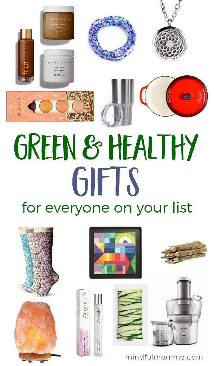 Green & Healthy Gifts to Delight Everyone on Your List