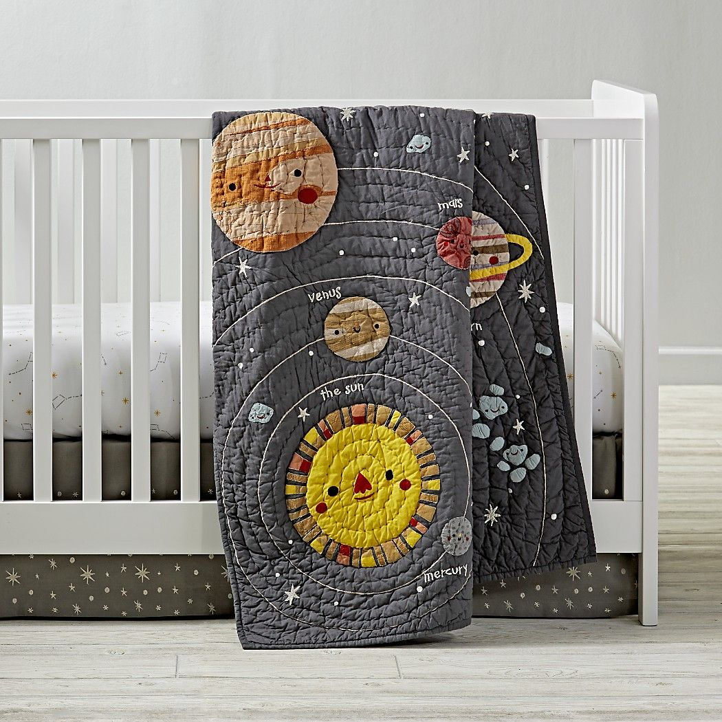 Big dipper star crib bedding crate and barrel outer
