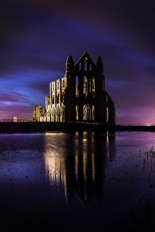 Whitby Abbey Evening
