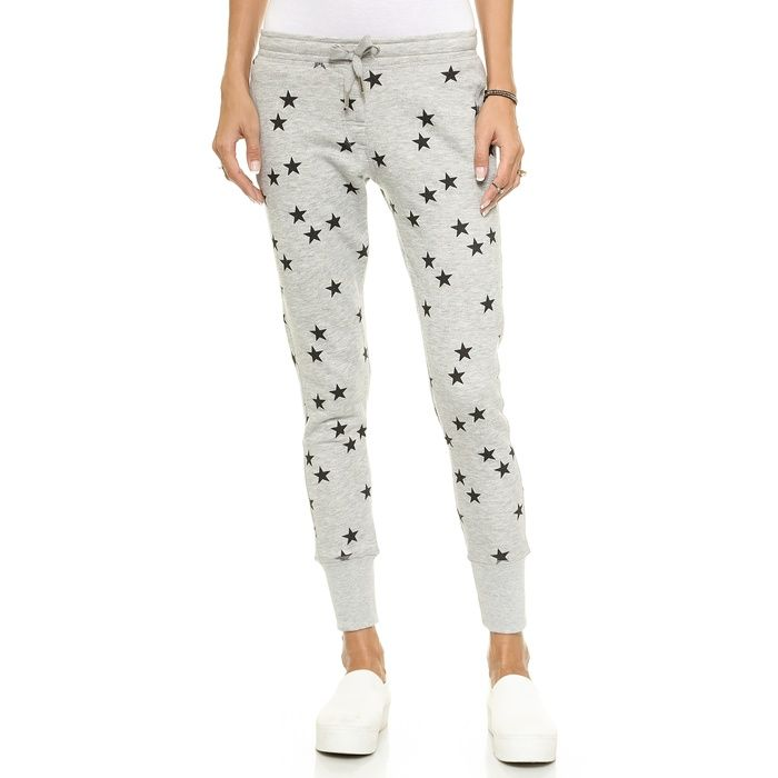 Rank & Style - Zoe Karssen Slim Fit Stars Sweatpants #rankandstyle