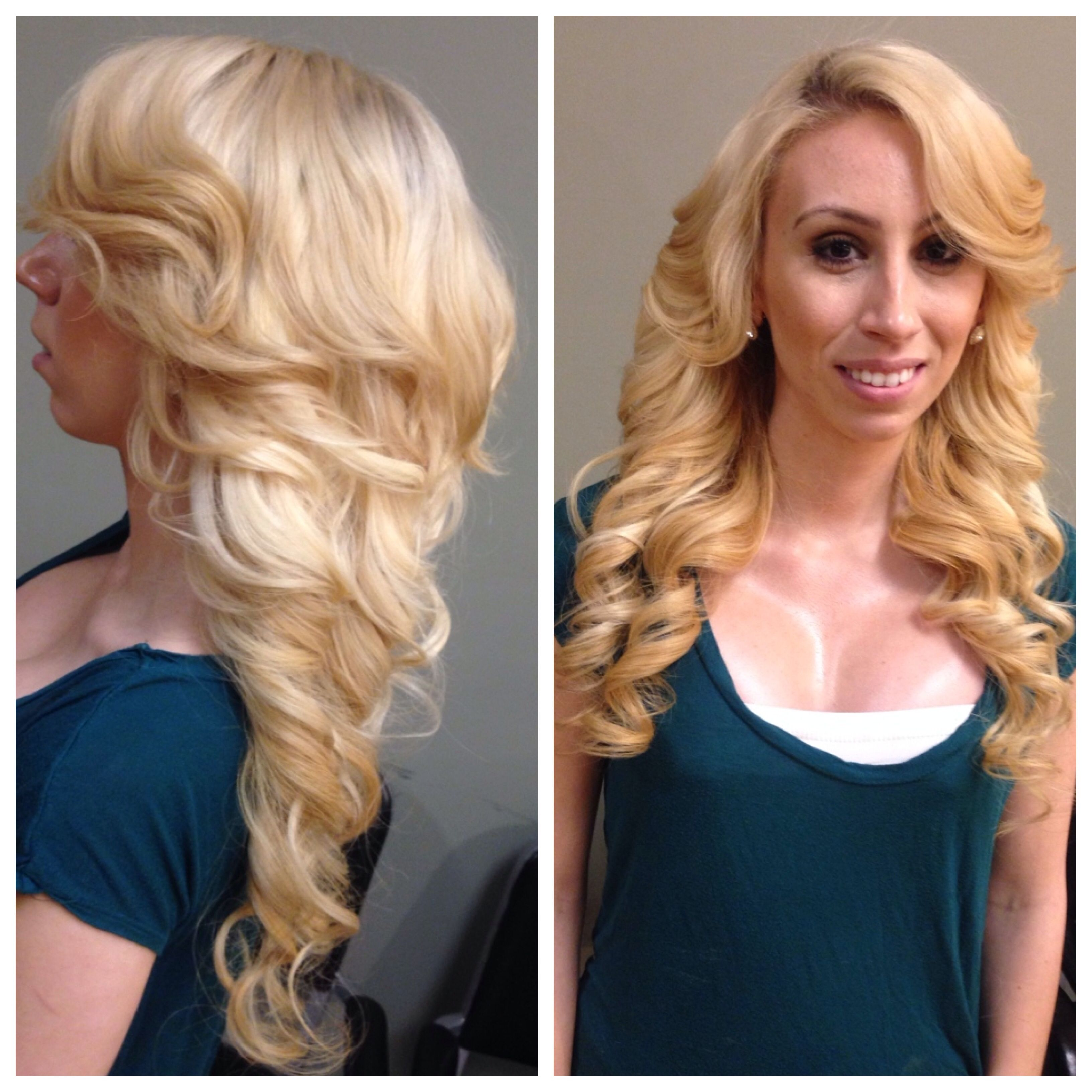 Blonde Sew In On White Girl Weavesextensions Pinterest Weave
