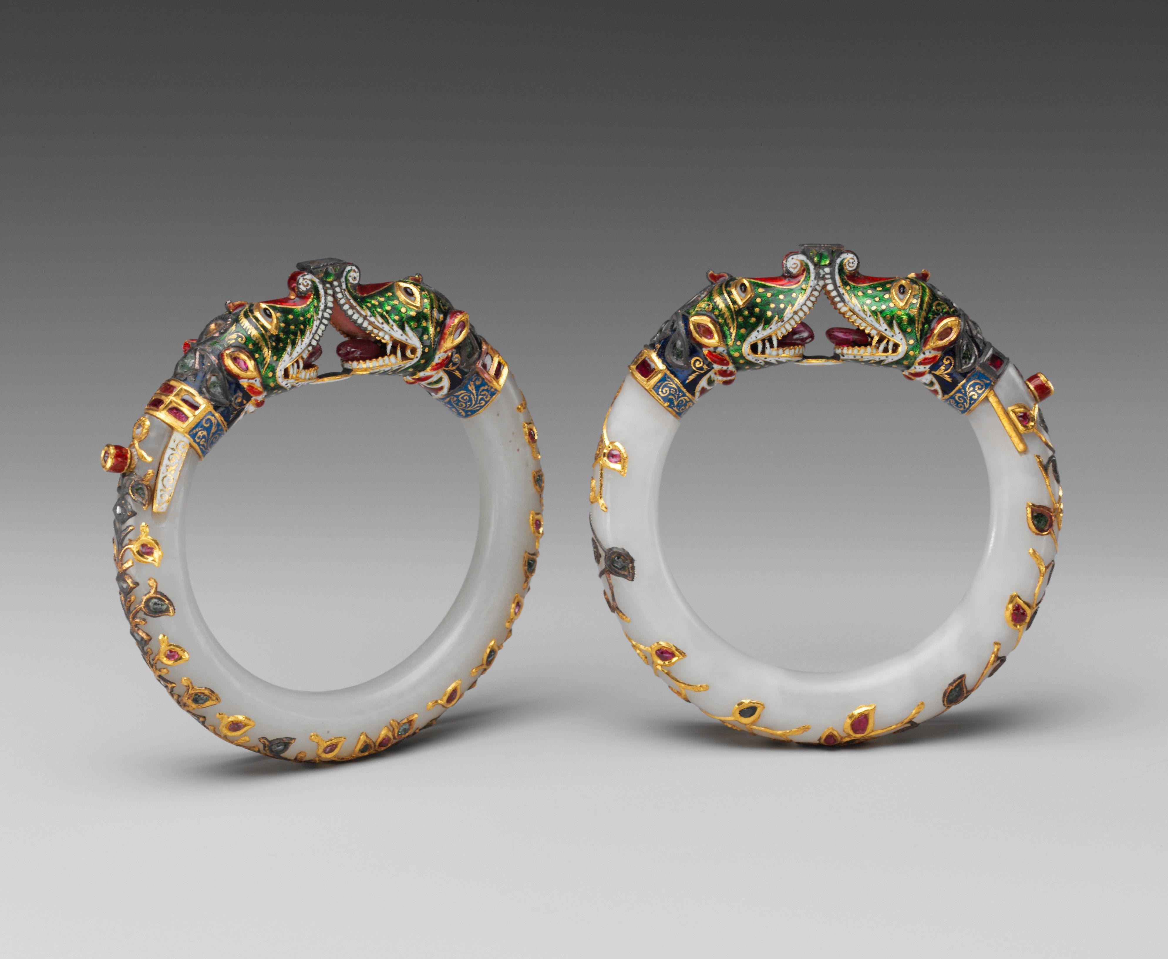 Bracelet India Mughal Period 1526 1858 Metropolitan Museum Of Art Indian