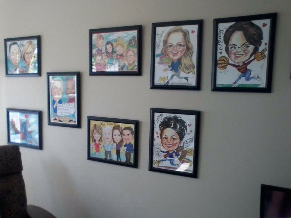 Wall of Caricatures