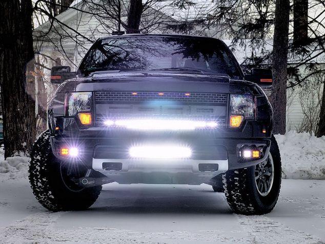 2010 2014 Svt Raptor Rigid Industries Fog Light Kit Ford Raptor