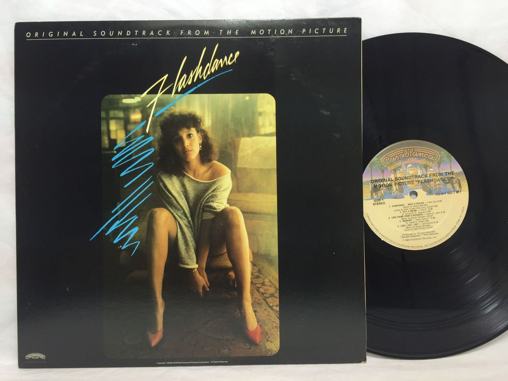 Flashdance Soundtrack Lp 1983 422 811 492 1 M 1 Lp Vinyl Record Original Vinyl Records Soundtrack Flashdance