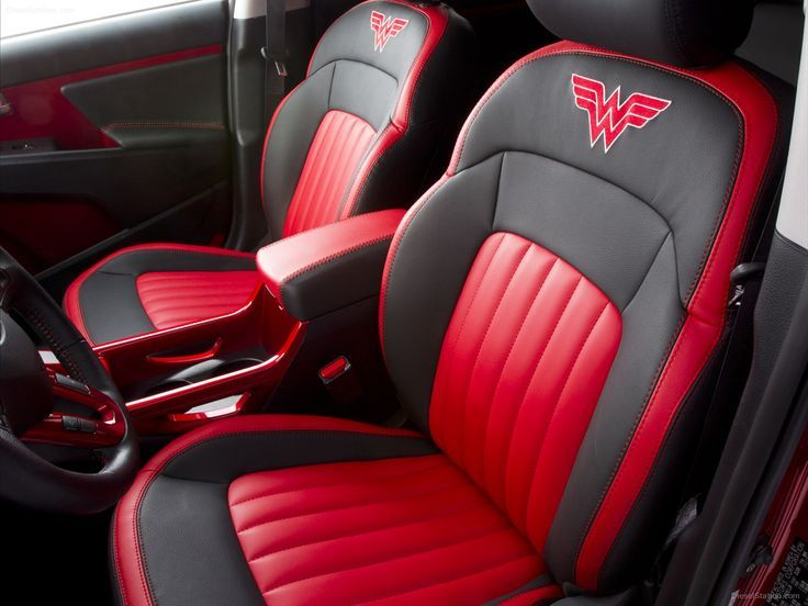 Wonder Woman Car Seats