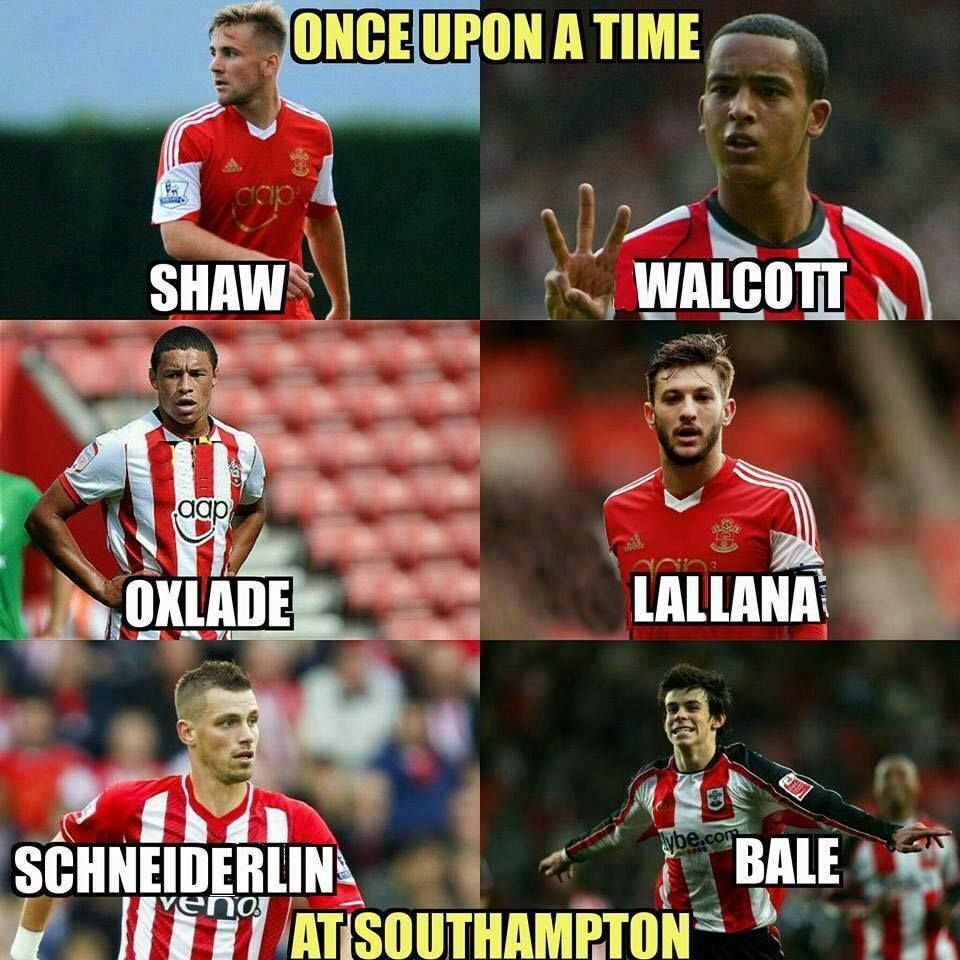 Once upon a time at Southampton Football jokes, Football