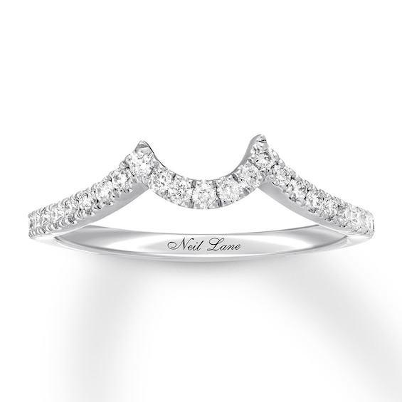 Neil Lane Diamond Wedding Band 1 4 Ct Tw 14k White Gold Kay Diamond Wedding Bands 14k White Gold Wedding Band White Gold