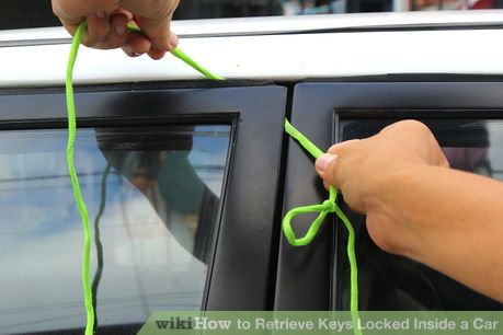 Retrieve Keys Locked Inside A Car With A Pull Up Lock With Images