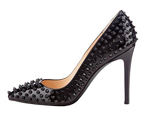 Onlymaker Ladies Women's High Heel Closed Toe Pumps Rivet Studded Sandals Handmade For Wedding Party Dress Stiletto Shoes, http://www.amazon.com/dp/B00MOCL6VE/ref=cm_sw_r_pi_awdm_qLETub1A7K96Q