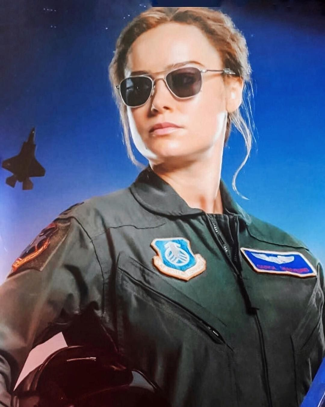 Brie Larson Captain Marvel On Instagram New Captain Marvel Promo Art Shows Brielarson S Carol Danvers In Fig Captain Marvel Costume Captain Marvel Marvel A cool, exciting recruitment tool. brie larson captain marvel on