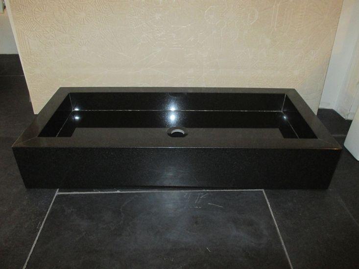 Wastafel graniet - Bakx badkamers (high-end design sanitair) te ...