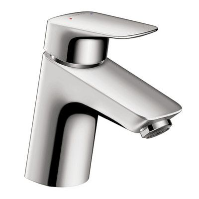 Hansgrohe Logis Faucet Single Handle with Drain Assembly Finish: Chrome