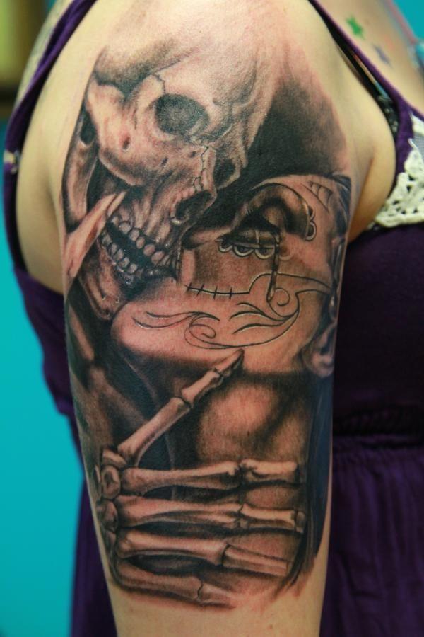 fe50dc8e9 50 Tatuagens de caveiras para você se inspirar Calavera Tattoo, Tattoos  With Meaning, Christianity