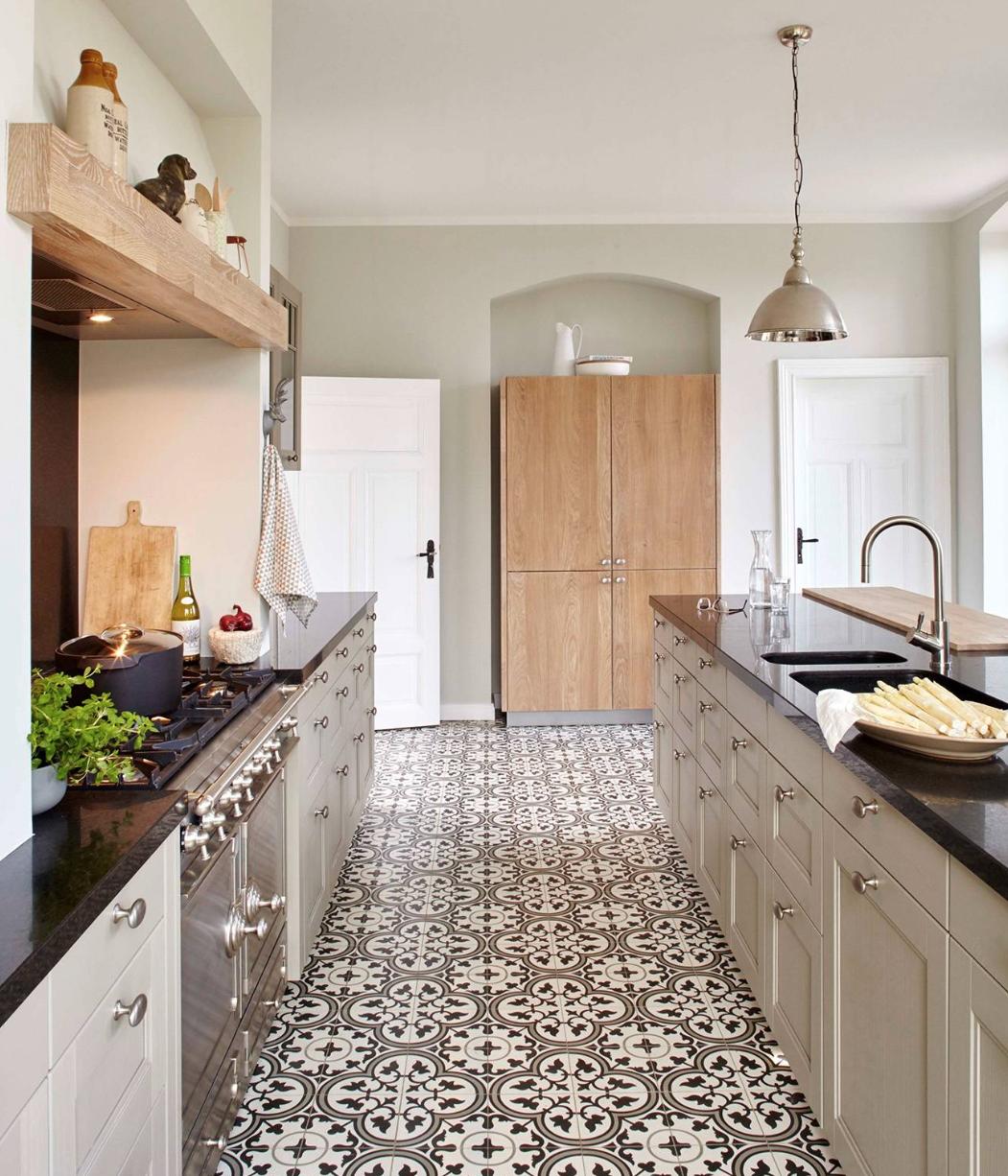 Landhaus Küche, Zemetfliesen <3 | Einrichten & Wohnen | Pinterest ...