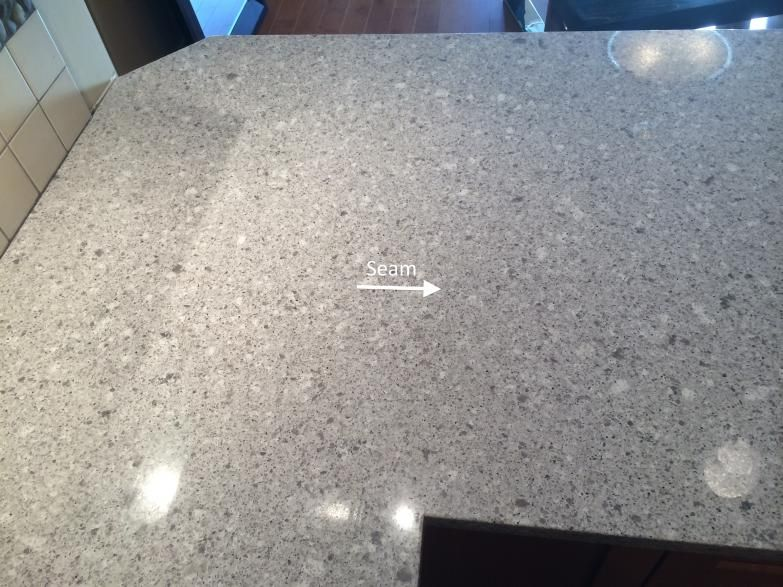 Granite Countertop Seams : The quot perfect seam custom granite quartz countertops