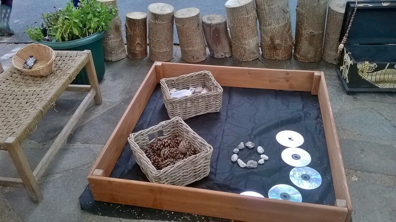 provocation for loose parts at chadwell pre
