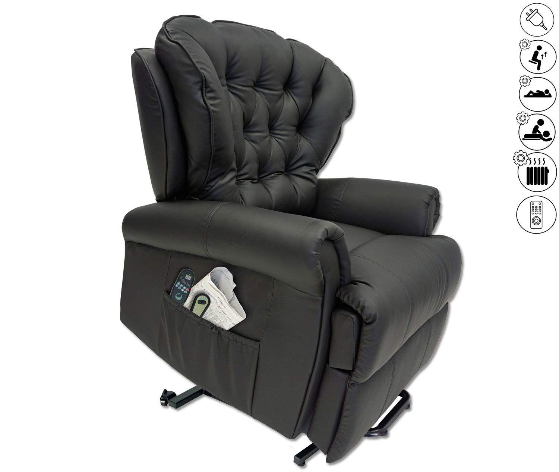 Abc Home Living Sessel Massagesessel Wärmefunktion Liege Sessel Kunstleder Home Living