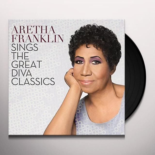 Aretha Franklin Sings The Great Diva Vinyl Record Aretha