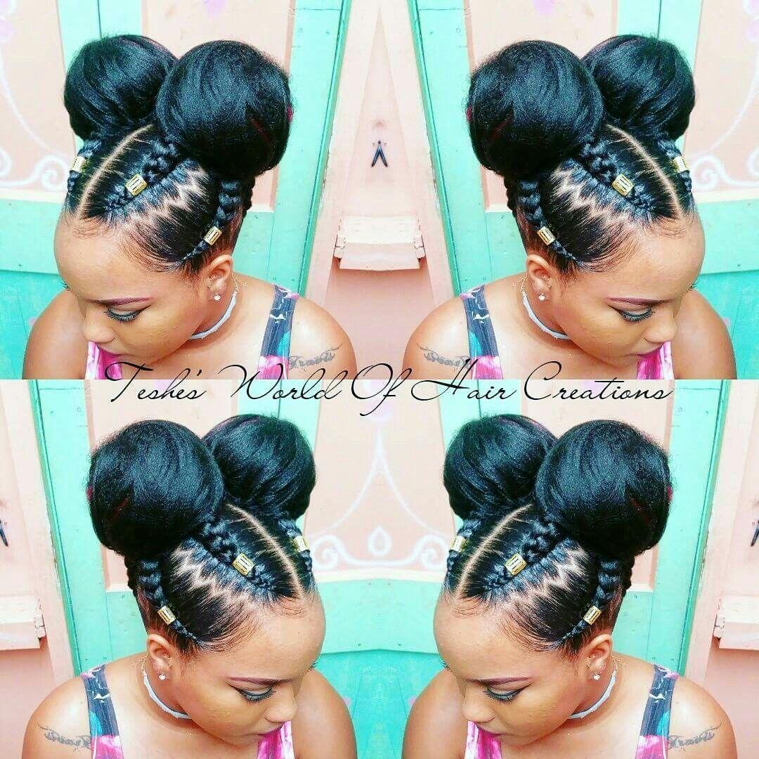 Braids Buns Natural Hair Styles Braided Hairstyles Weave Hairstyles Braided