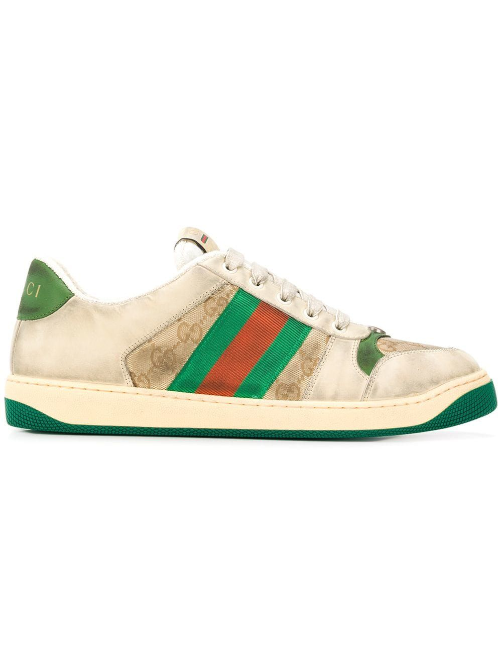 f5aaed3f251 GUCCI GUCCI SCREENER GG SNEAKER - NEUTRALS.  gucci  shoes