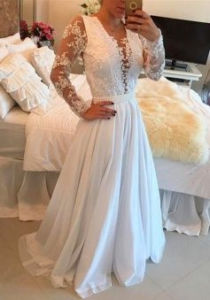Photo of buy blue off the shoulder homecoming dress design White flow…