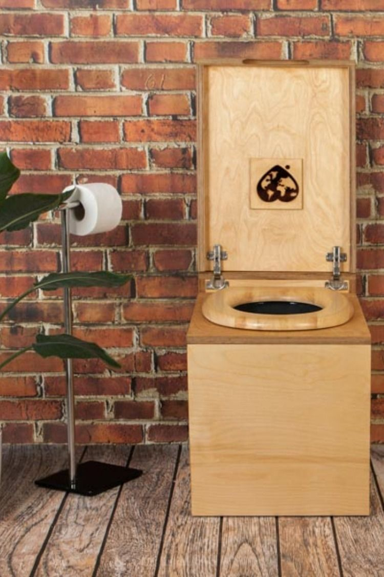 Trobolo Leliblœm Trockentoilette Toilette Komposttoilette