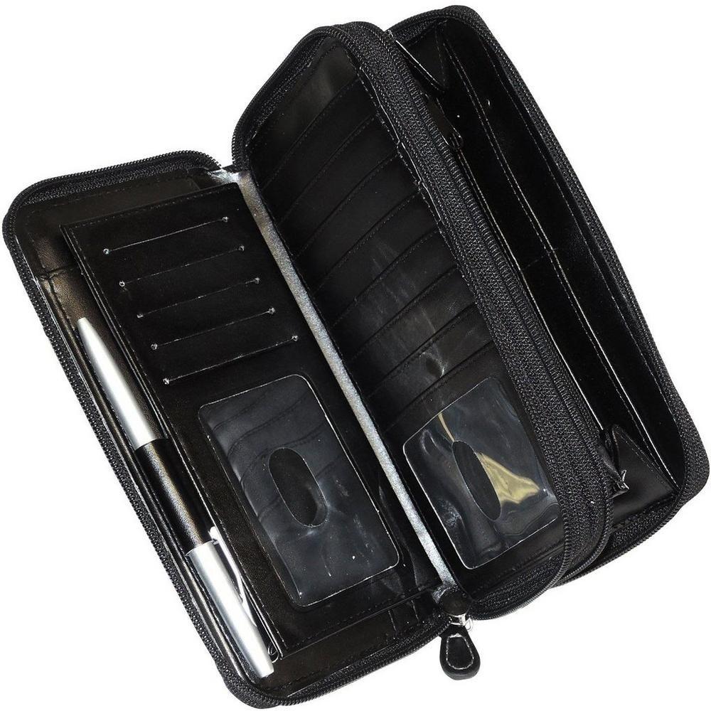 Buxton ultimate rfid organizer crossbody handbag cross