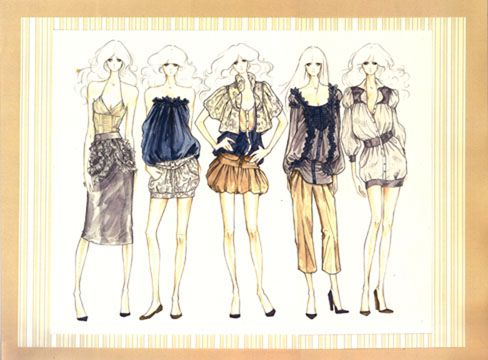 Clothing Design Ideas fashion ideas for inspiration with fashion style ideas with sexy Fashion Sketchbook Smocking And Design Development On Pinterest