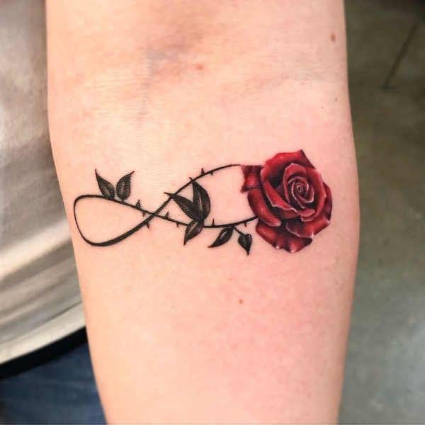 Tatuaż Znak Nieskończoności Znaczenie Symbolika 80 Zdjęć