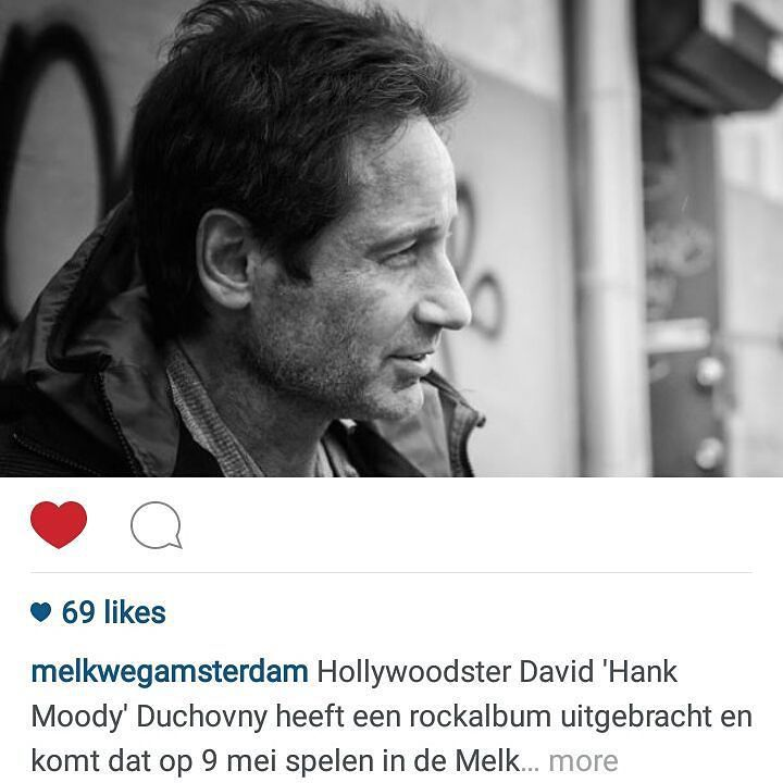 The afterparty? I'm so fcking there! #davidduchovny #music #party