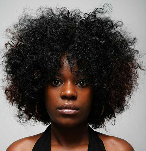15 Short Curly Afro Hairstyles With Images Natural Hair Styles