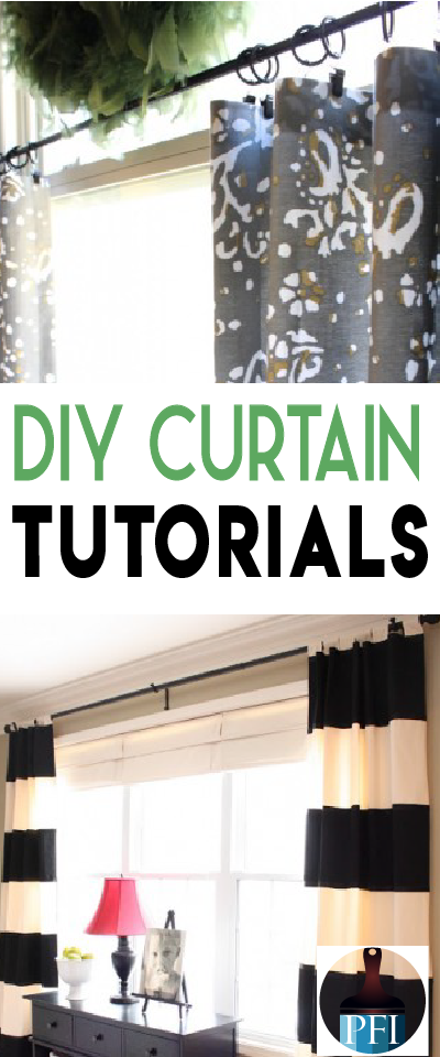 How to's : Here are some of my top favorite DIY Curtain Tutorials from some of the best bloggers on the web! These tutorials have everything covered!