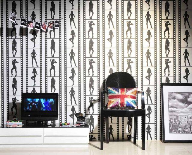 80 Wohnzimmer Tapeten Ideen \u2013 Coole, moderne Muster wohnzimmer - tapeten wohnzimmer