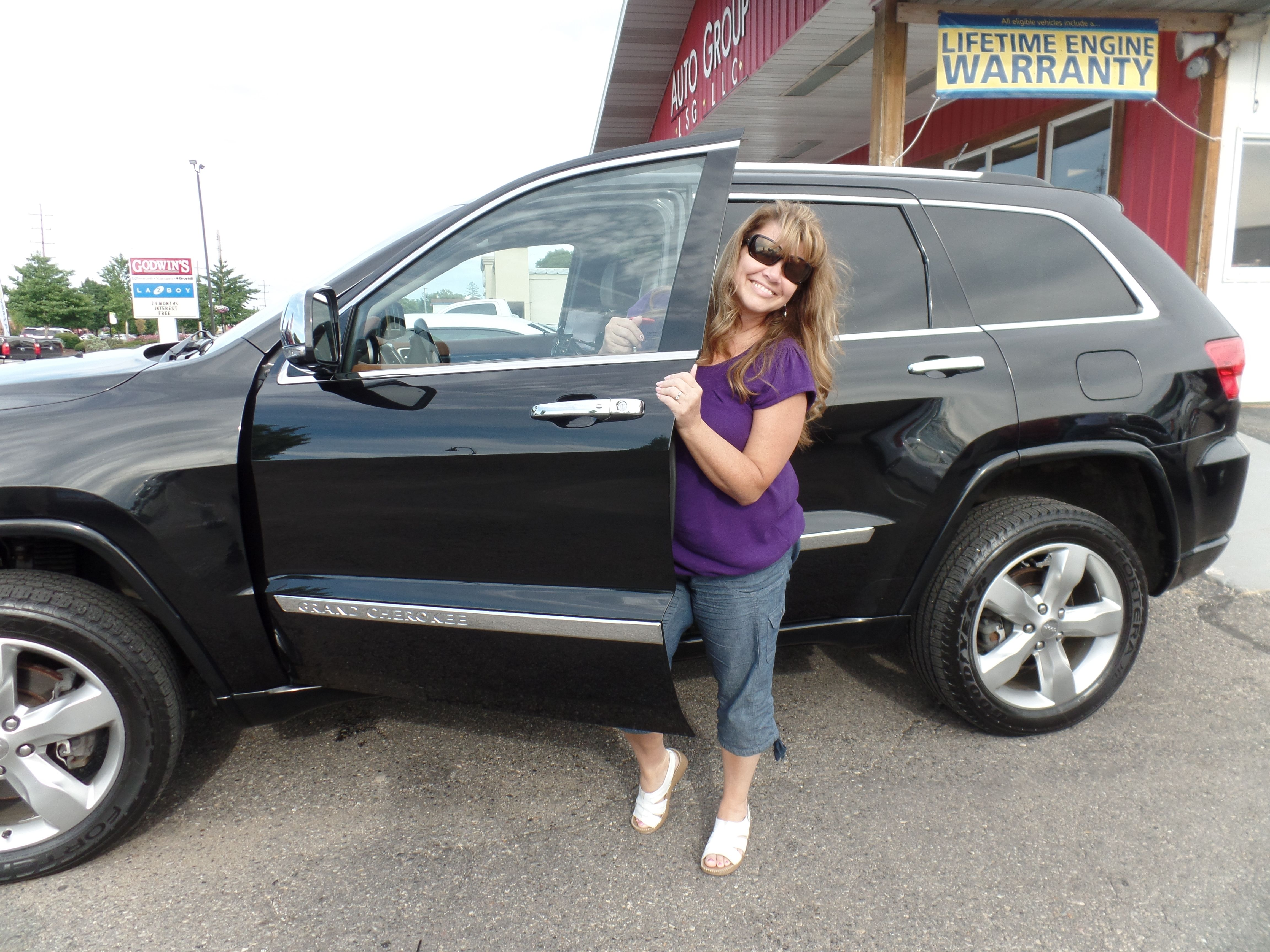 Congratulations To Lori E On Her Purchase Of A New Jeep Grand