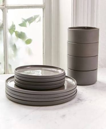 Best Grey Plates Google Search In 2019 Modern Dinnerware 400 x 300