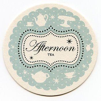 Afternoon Tea Coaster Invitations Afternoon Tea Teas And Hens