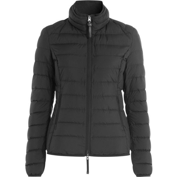 Parajumpers Geena Quilted Down Jacket ($285) ❤ liked on Polyvore featuring outerwear, jackets