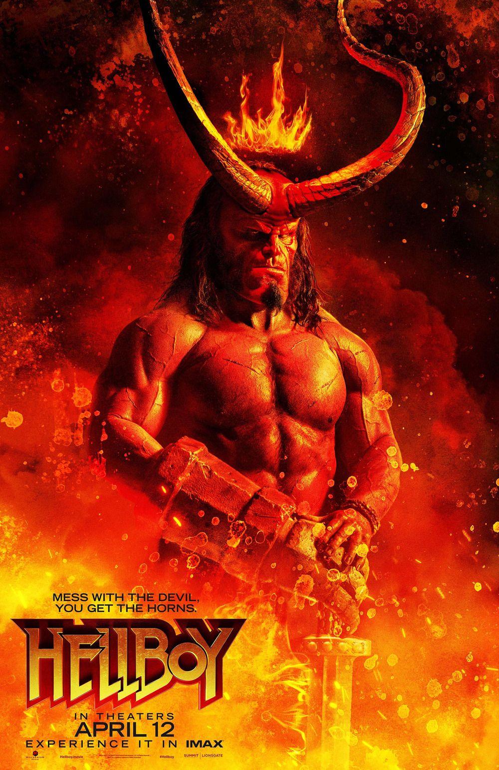 Hellboy With Images Hellboy Movie Hellboy Film Movie Posters