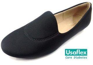 Sapatilha Feminina Usaflex Care Diabetes Diabético   Calçados bdcaddf8e2