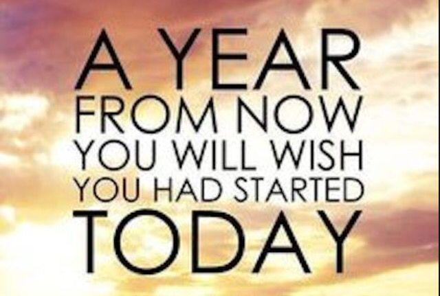 #starttoday