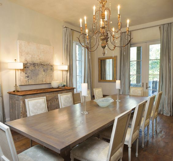 The Dining Room Table By Vieux Is A 12 Foot
