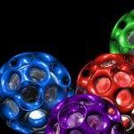 3D Balls Facebook Covers