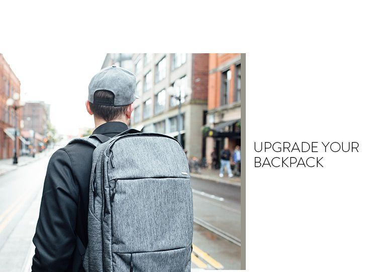 Upgrade your backpack.