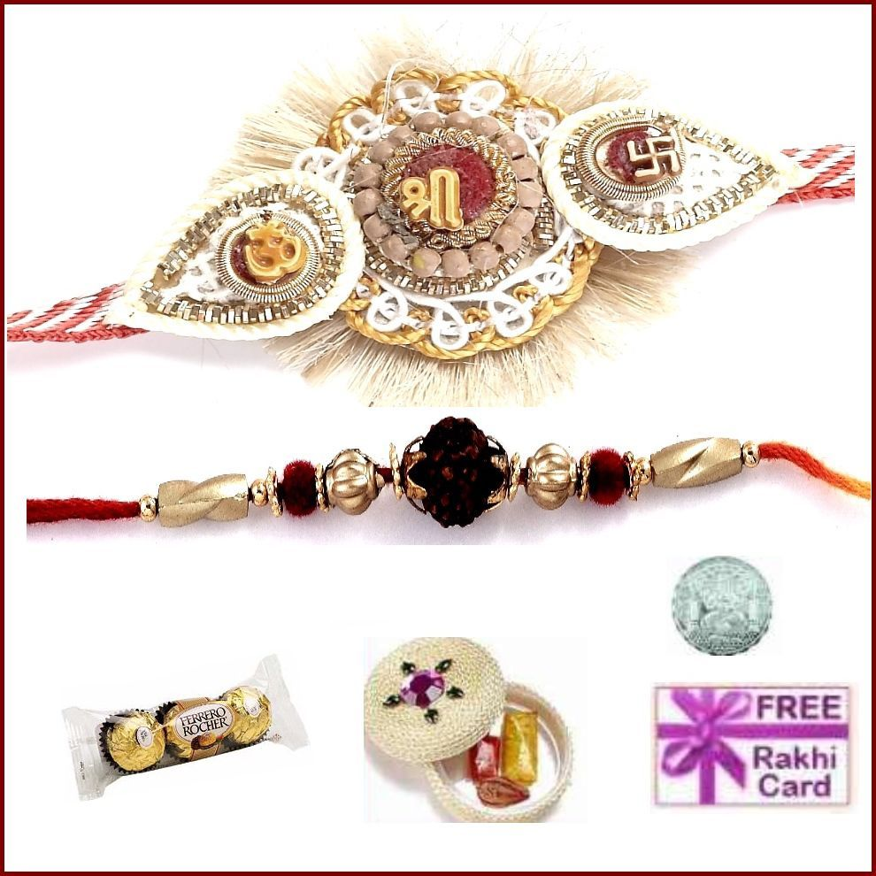 Send Rakhi to UK, USA, Canada and Singapore from India at